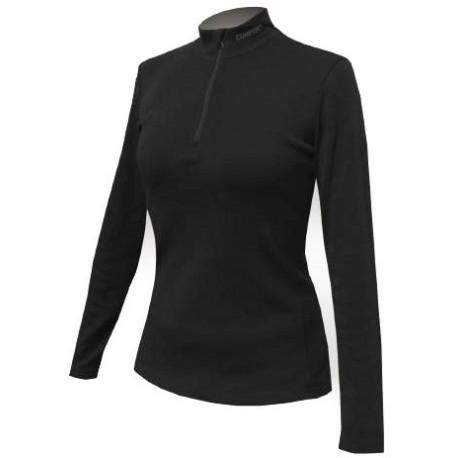 Jitex BoCo Kekuja 801 TES černá dámské triko dlouhý rukáv Merino vlna
