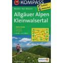 Kompass 3 Allgäuer Alpen, Kleinwalsertal 1:50 000 turistická mapa