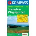 Kompass 16 Traunstein, Waginger See 1:50 000 turistická mapa
