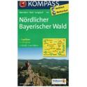 Kompass 195 Nördlicher Bayerischer Wald 1:50 000 turistická mapa