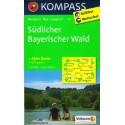 Kompass 197 Südlicher Bayerischer Wald 1:50 000 turistická mapa