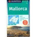 Kompass 230 Mallorca 1:75 000 turistická mapa