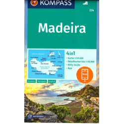 Kompass 234 Madeira 1:50 000