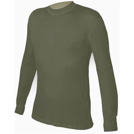 Jitex BoCo Ibes 781 TES tmavě khaki unisex triko dlouhý rukáv
