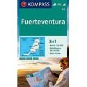 Kompass 240 Fuerteventura 1:50 000 turistická mapa