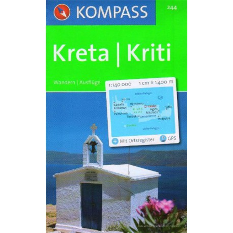 Kompass 244 Kréta 1:140 000