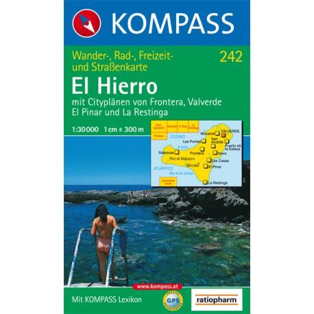 Kompass 242 El Hierro 1:30 000