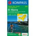 Kompass 242 El Hierro 1:30 000 turistická mapa