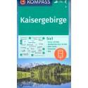 Kompass 9 Kaisergebirge 1:50 000 turistická mapa