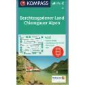 Kompass 14 Berchtesgadener Land, Chiemgauer Alpen 1:50 000 turistická mapa