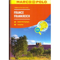 Marco Polo Francie 1:300 000 autoatlas