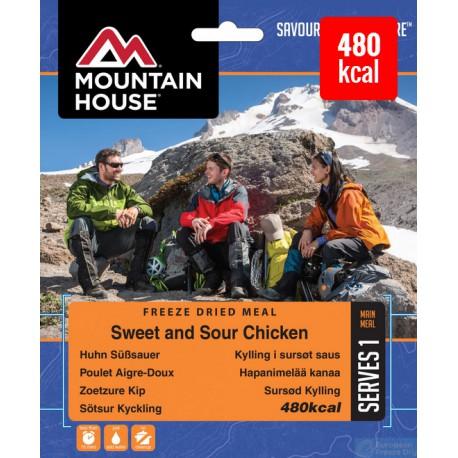 Mountain House Kuře s rýží ve sladkokyselé omáčce 1 porce expediční strava