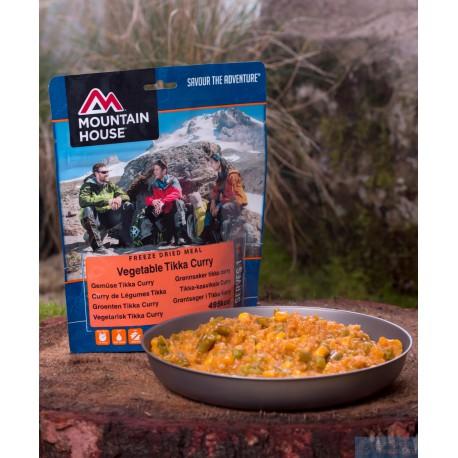 Mountain House Zeleninový mix s rýží v kari omáčce 1 porce