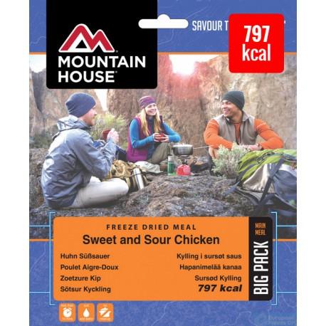 Mountain House Kuře s rýží ve sladkokyselé omáčce 2 porce