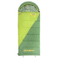 Husky Kids Milen -5°C zelená dětský třísezónní dekový spací pytel Invista Hollowfibre 4