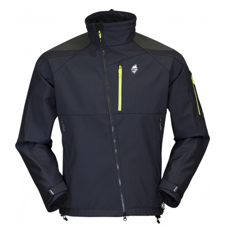 High Point Stratos black pánská softshellová bunda Mechanical Softshell BlocVent 3L DWR