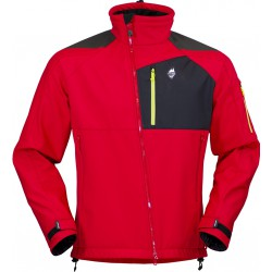 High Point Stratos Jacket red pánská softshellová bunda BlocVent 3L