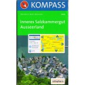 Kompass 020 Inneres Salzkammergut, Ausseerland 1:25 000 turistická mapa