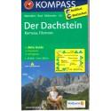 Kompass 031 Der Dachstein, Ramsau, Filzmoos 1:25 000 turistická mapa