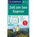 Kompass 030 Zell am See, Kaprun 1:35 000 turistická mapa