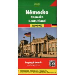 Freytag & Berndt Německo 1:500 000 automapa