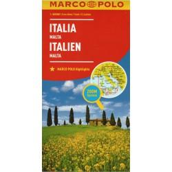 Marco Polo Itálie 1:800 000 automapa