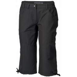 Progress Sagarmatha 3Q černá dámské tříčtvrteční kalhoty