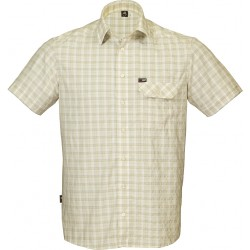 High Point Lagon SS Shirt bone pánská košile krátký rukáv Supplex/DryKeep IBQ
