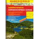 Marco Polo Slovenká republika 1:200 000 autoatlas