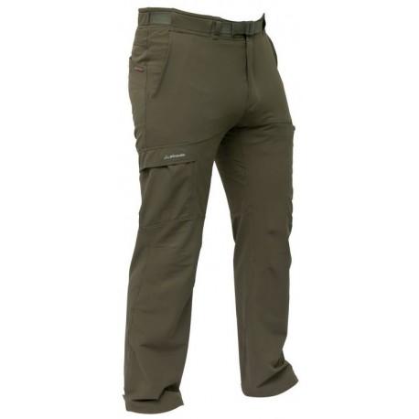 Pinguin Flow olivová pánské softshellové kalhoty Airysoft