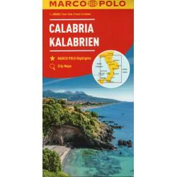 Marco Polo Kalábrie 1:200 000 automapa