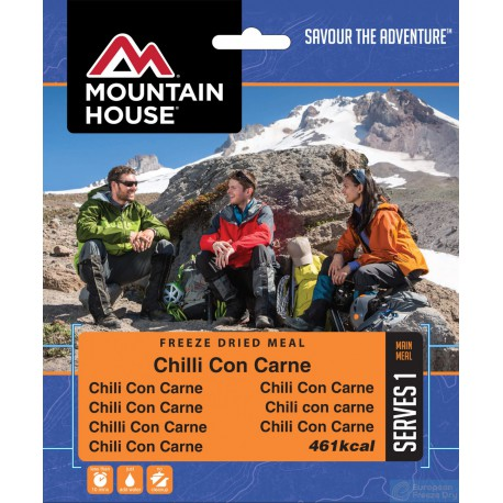 Mountain House Chilli Con Carne s rýží 1 porce expediční strava