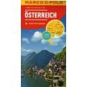 Marco Polo Rakousko 1:300 000 automapa