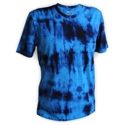 Jitex BoCo Kadat 901 TSX modrá/tmavě modrá pánské triko krátký rukáv Merino vlna