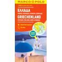 Marco Polo Řecko - pevnina, Kyklády, Korfu, Sporades 1:300 000 automapa