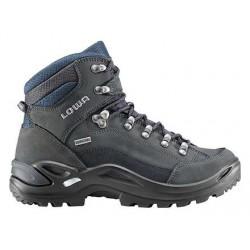 Lowa Renegade GTX Mid W dark grey navy dámské nepromokavé kožené trekové  boty c8d2aeaf0e