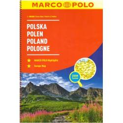 Marco Polo Polsko 1:300 000 autoatlas