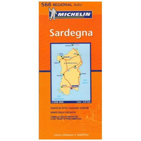 Michelin 565 Sardinie 1:350 000 automapa