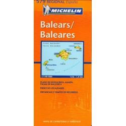 Michelin 579 Baleáry 1:140 000 automapa