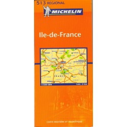 Michelin 513 Ile de France 1:200 000 automapa