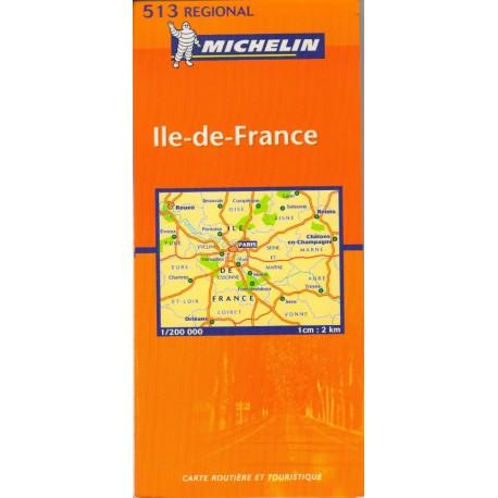 Michelin 513 Ile de France 1:200 000 automapa