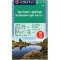 Kompass 293 Dachsteingruppe Schladminger Tauern 1:25 000