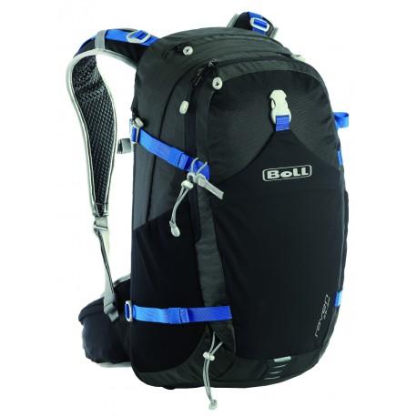 Boll Raven 25-29 černá/modrá turistický batoh