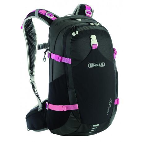 Boll Raven 18-22 černá/růžová turistický batoh