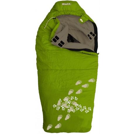 Boll Patrol zelená dětský třísezónní spací pytel Microfiber Dual