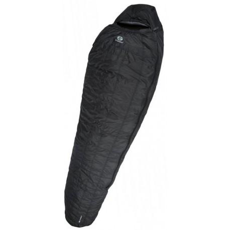 Sir Joseph Looping II 500 200 tmavě šedá expediční nepromokavý péřový spací pytel Exel Dry