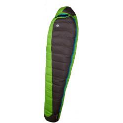 Sir Joseph Erratic Plus II 1000 200 zelená zimní nepromokavý péřový spací pytel Exel Dry L