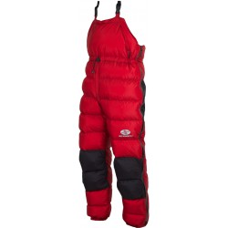 Sir Joseph Rak červená unisex nepromokavé péřové kalhoty Exel Dry Light 100
