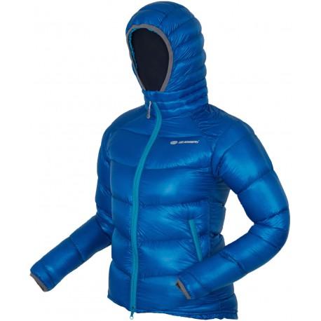 Sir Joseph Koteka Lady II modrá dámská ultralehká zimní péřová bunda