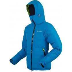 Sir Joseph Spire modrá unisex nepromokavá zimní péřová bunda Exel Dry Stream